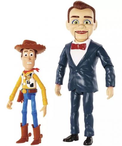 Toy Story 4 Woody E Benson Mattel Edicao Especial Do Filme