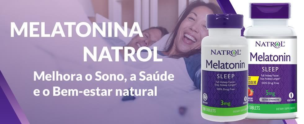 Resultado de imagem para melatonina 3mg time release natrol