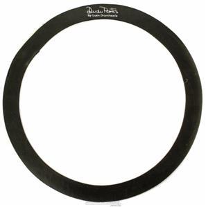 """Abafador de Tambores Luen Dudu Portes Muffle Ring Black 12"""" para colocar sobre a pele (1800612)"""