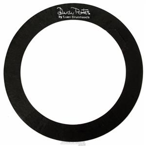 """Abafador de Tambores Luen Dudu Portes Muffle Ring Black 08"""" para colocar sobre a pele (1800608)"""
