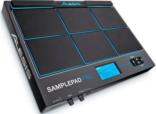 Pad de Efeitos Alesis Sample Pad Pro com 8 Pads, Percussão, Bateria Eletrônica, Efeitos, Samples