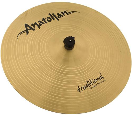 "Crash Anatolian Traditional Thin 19"" Handmade Turkish"