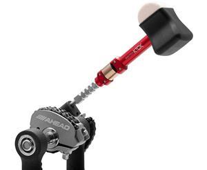 Batedor de Bumbo Ahead Switch Kick Two-Way AHSK com Maçaneta o Batedor + Top do Mundo