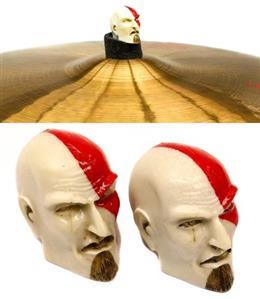 Borboleta Tribal Percussion Kratos God of War (Playstation) p/ Estantes de Prato 8mm com 2 Unidades