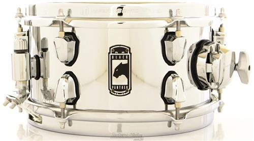 "Caixa Mapex Black Panther The Stinger 10x5"" Chrome Steel Shell Sonic Saver Hoop"