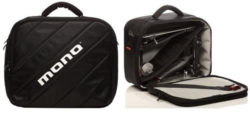 Semi Case de Pedal Duplo e Single Mono M80 com Mini Bag Extra Interna Modelo Mais Top do Mundo