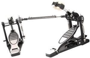 Pedal Duplo X-Pro C. Ibañez Double Chain PD-DBL com 2 Singles Prontos para Tocar Individualmente