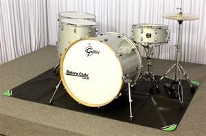Tapete de Bateria On Stage Stands DMA-6450 Medidas 1,85mX1,25m Exclusivo pra Bateria (022913)