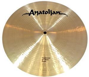 "Crash Anatolian Traditional 15"" Handmade Turkish"