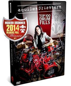 DVD Aquiles Priester - Top 100 Drum Fills - O Melhor DVD 2014 pela Modern Drummer
