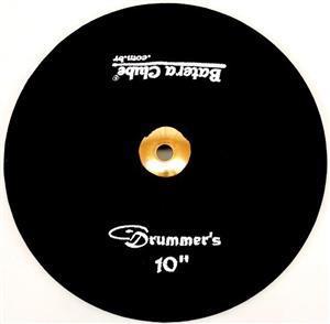 """Capa Protetora para Pratos Drummers Preta 10"""" Signature em Algodão"""