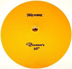 """Capa Protetora para Pratos Drummers Amarela 20"""" Signature em Algodão"""