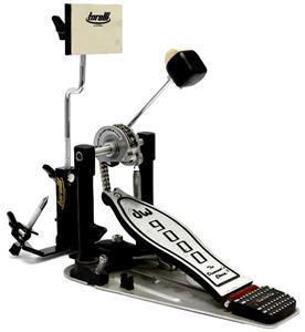 Pad de Estudo de Bumbo Torelli TA551 Articulável e Compatível com Pedal Duplo