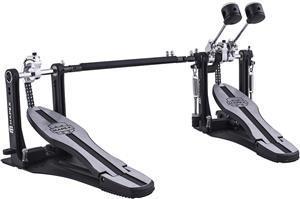Pedal Duplo Mapex P600TW Mars Series Dual Chain Drive com Corrente Dupla e Base Fixa