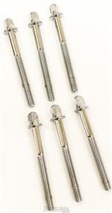 Parafusos de Afinação Turbo ETS/D com 52mm (5,2cm) para Tom e Caixa Kit com 6 Unidades