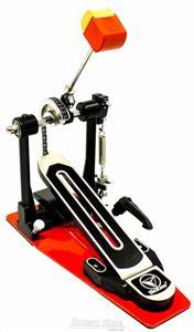 Pedal Single Bauer by Torelli BPD50 com Batedor de 2 Faces com Memória e Extensor de Sapata