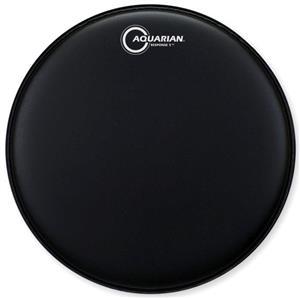"""Pele Aquarian Response 2 Texture Coated Black 10"""" Filme Duplo Porosa (Similar Onyx2) TCRSP2-10BK"""
