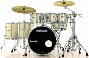 "Bateria Yamaha Recording Custom Limited 27th nº 1 de 15 no Mundo 22"",8"",10"",12"",14"",16"" + Caixa"