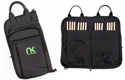 Bag de Baquetas NK NewKeepers Eco Couro Sintético Tamanho Extra Grande Padrão Top de Linha