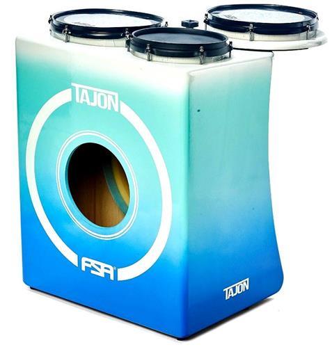 Bateria Cajón FSA Tajon Master TAJ25 Fade Blue Mini Bateria Cajón Kit Compacto