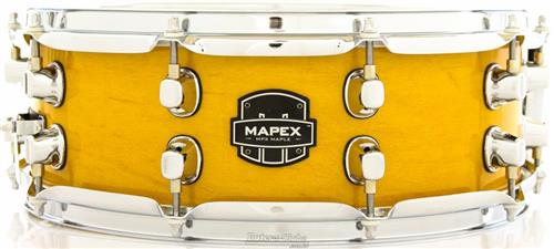 """Caixa Mapex MPX Maple Gloss Natural 14x5,5"""" com 10 Afinações"""