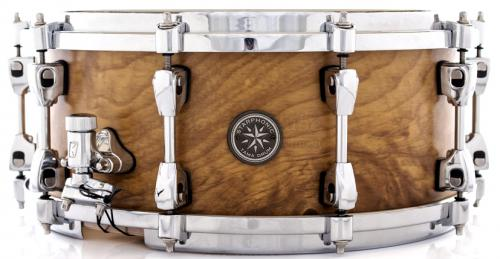 """Caixa Tama Starphonic Limited Edition Maple Exotic Olive 14x6"""" Made in Japan (Seminovo)"""