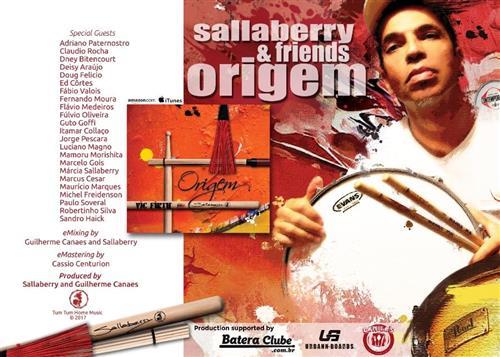 CD Sallaberry Origem Instrumental Latin Jazz e Música Brasileira