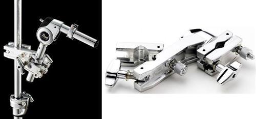 Clamp Pearl AX-28 Articulado e Curvo com 2 Conexões Multiuso com Vários Ajustes