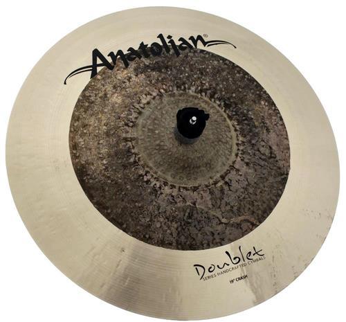 "Crash Anatolian Doublet 19"" Omni Raw Natural Handmade Turkish"
