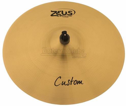 """Crash Zeus Custom Series Traditional 18"""" em Bronze B20 ZCC18"""