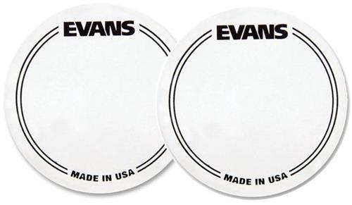 Pad de Bumbo Evans EQ Patch EQPC1 com 2 unidades (Pedal Single) Pad Kick (014110)