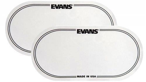Pad de Bumbo Evans EQ Patch EQPC2 com 2 Unidades (Pedal Duplo) Pad Kick (014111)