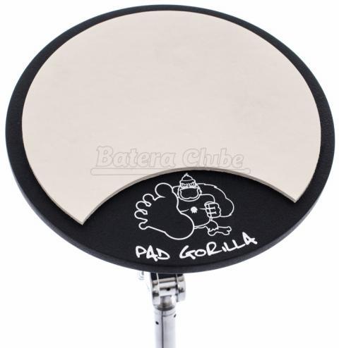 """Pad de Estudo Gorilla Clássico 8"""" PGR8 com Rosca Inferior para Fixar em Estantes 8mm"""