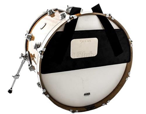 """Pad de Estudo Nevada Drums para Bumbo 20"""" com Tonalidade de Nota Musical"""