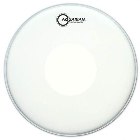 "Pele Aquarian Texture Coated Power Dot 14"" Porosa com Bola Central TCPD14 (Similar Remo CS)"