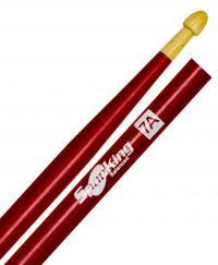 Baqueta Spanking Linha Colorida 7A Clássica Vermelha (4053VM)