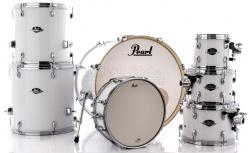 "Bateria Pearl Export EXX Series Mahogany Pure White 20"",8"",10"",12"",14"",16"" (Shell Pack)"