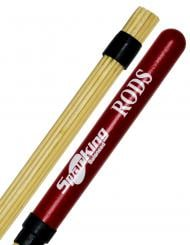 Baqueta Rod Spanking Linha Rods Colorida Vermelha (4110VM)