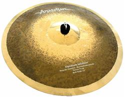 """Ride Anatolian Prototype Series Power Ping Bell 22"""" Signature Solutions by Domene Cymbals"""