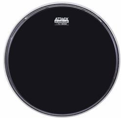 """Pele Attack Drumheads 1-Ply Medium Hazy Black 06"""" Filme Único Preto DHA6B"""