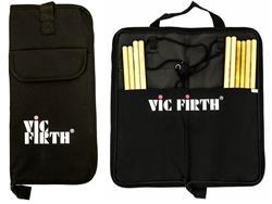 Bag de Baquetas Vic Firth Basic Stick Bag BSB com Diversas Divisórias (1769)