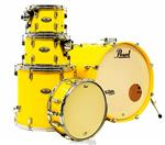 "Bateria Pearl Decade Maple High Gloss Solid Yellow 22"",10"",12"",16"" com Caixa (Shell Pack)"