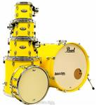 "Bateria Pearl Decade Maple High Gloss Solid Yellow 20"",8"",10"",12"",14"" com Caixa (Shell Pack)"