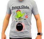 Camiseta Batera Clube by VanRock Pápururu Series Tamanho GG Cinza PPS1 em Fio 30.1 Estampa Digital