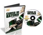 DVD Curso de Bateria para Iniciantes Volume 1 com Postura, Técnicas, Ritmos, Viradas, Rudimentos