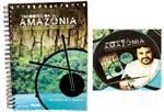 Livro + CD Tambores da Amazônia com Ygor Saunier Ritmos do Norte do Brasil