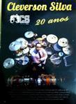 DVD Cléverson Silva 20 Anos Pack com CD (Gospel Drummer)