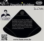 """Abafador de Pratos Luen Practice Rubber 16"""" a 18"""" Borracha Densa (17464)"""