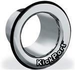 KickPort Potencializador de Bumbo e Molde (Cromado) Aumente o Grave e Punch do Bumbo