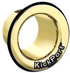KickPort Potencializador de Bumbo e Molde (Dourado) Aumente o Grave e Punch do Bumbo